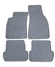 AUDI A4 В6/В7 (Чехія) Гумові килимки в салон (4шт.) Килимки автомобільні Ауді А4 (В6/В7) 2000+ Чорний
