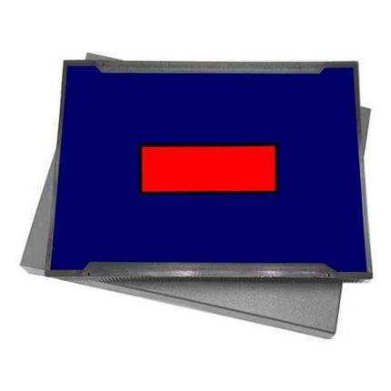Штемпельная подушка для штампа 40x64 мм, Shiny S-829-7, фото 2