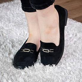 Слиперы женские Fashion Mazzy 1874 36 размер 23,5 см Черный