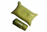 Самонадувна подушка Tramp TRI-012. Подушка туристична. Подушка в дорогу