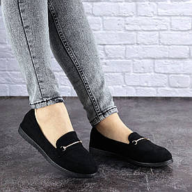 Жіночі слиперы Fashion Randy 1740 37 розмір 23,5 см Чорний
