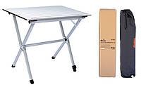 Складной стол с алюминиевой стильницеюTramp Roll-80 (80x60x70 см) TRF-063