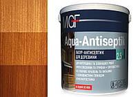 Лазурь антисептик для древесины MGF Aqua-Antiseptik тик 0.75 л