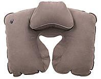 Подушка надувна під шию Tramp Lite Комфорт. Надувна подушка під шию. Подушка дорожня. Подушка в машину