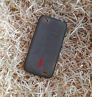 Чехол CAPDASE силиконовый плотный для HTC One V T320e + Защитная пленка, Черный