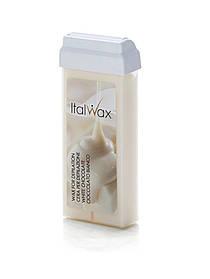 Теплий віск у картриджі для депіляції Молоко ItalWax, 100 мл