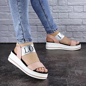 Жіночі сандалі Fashion Luna 1829 41 розмір 26 см Рожевий