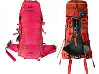 Рюкзак туристичний 50+10 л Tramp Floki червоний. Рюкзак туристичний 60 л. Рюкзак похідної