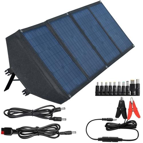 Мобильная солнечная панель ANVOMI SP100 (100 Ватт)