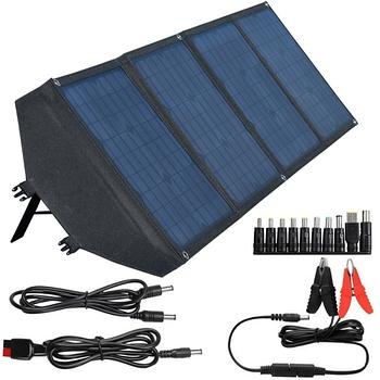 Портативна сонячна панель ANVOMI SP100 (100 Ват)