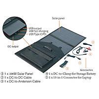 Мобильная солнечная панель ANVOMI SP100 (100 Ватт), фото 3