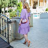 Літній сарафан плаття вільного фасону 100% бавовна розмір від 48 до 64, фото 6