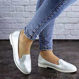 Жіночі слиперы Fashion Hershey 1977 36 розмір, 23,5 см Срібло