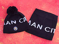 Шапка + Баф(горловик) ФК Манчестер Сити, фото 1