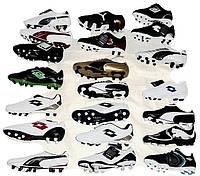 Обувь спортивная микс обувь для футбола 20 пар , Umbro (Умбро), Puma (Пума) Lotto (Лотто)