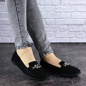 Слиперы жіночі Fashion Pal 1823 38 розмір 24 см Чорний