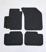 Suzuki Swift SX4 (Чехія) Гумові килимки в салон (4шт.) Килимки автомобільні Сузукі Свіфт з 2005р. Чорний
