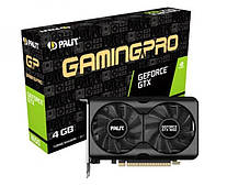 Видеокарта GF GTX 1650 4GB GDDR5 GamingPro Palit (NE6165001BG1-1175A)