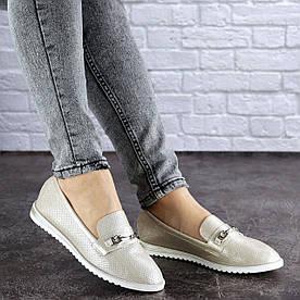 Жіночі слиперы Fashion Jeffy 1754 37 розмір 24 см Бежевий