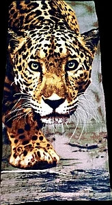 Пляжное  полотенце Леопард, 150*75