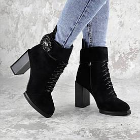 Женские зимние сапоги Fashion Elway 1317 40 размер 26 см Черный