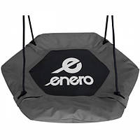 Качель садовая гнездо аиста ENERO (90X90см, шестиугольная, черная)