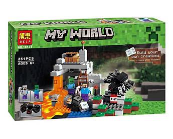 Конструктор Bela Minecraft Пещера