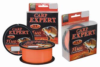 Леска Carp Expert UV Fluo Orange 300 м 0.25 мм 8.9 кг оранжевая