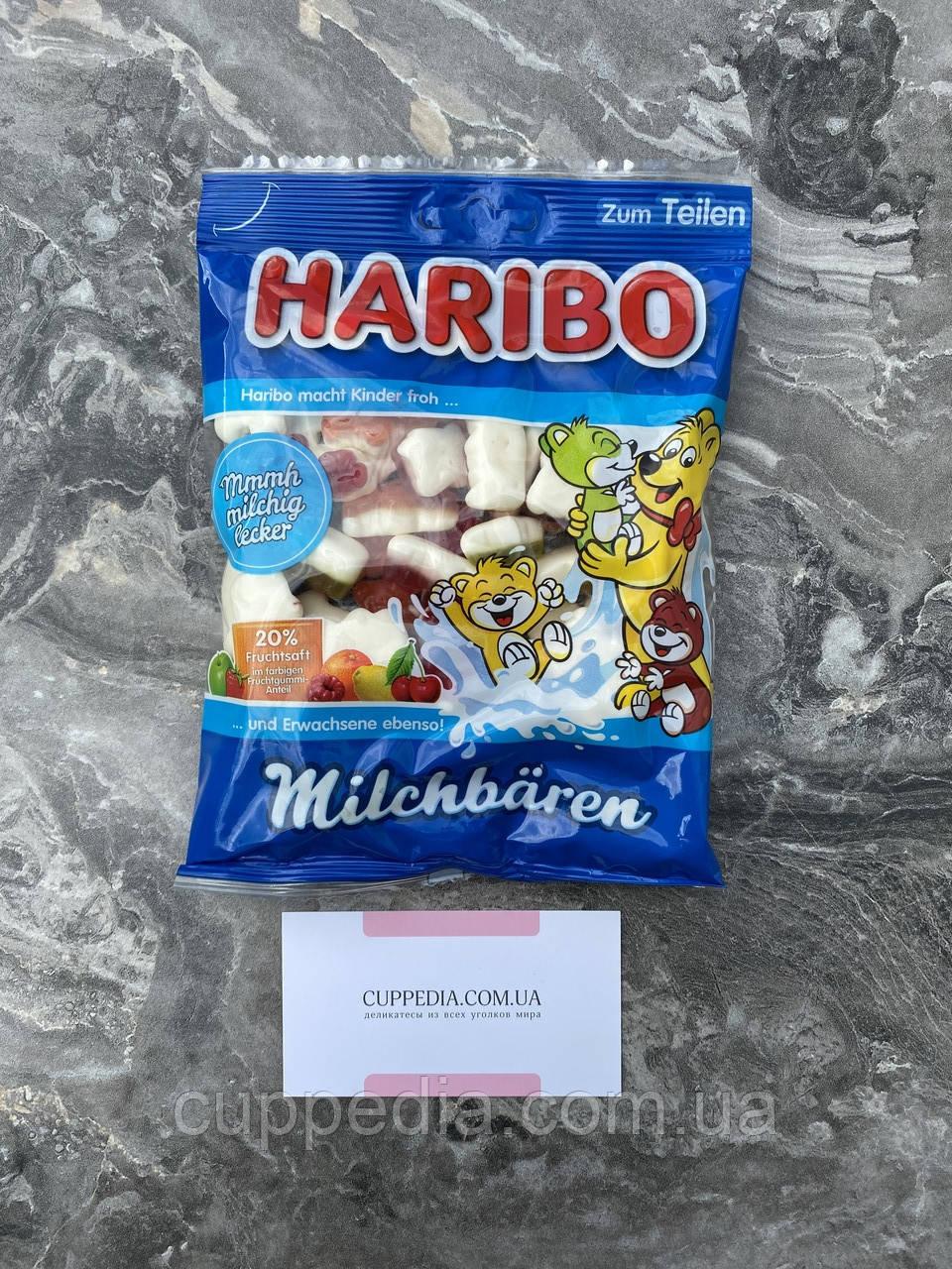 Жувальні цукерки Haribo Milchbaren
