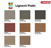 """Краска для дерева с эффектом """"металлик"""" Lignovit Platin, Adler"""