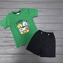 Комплект Футболка и шорты  для мальчиков оптом р.3-4 года