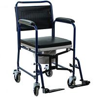 Крісло-каталка з санітарним оснащенням OSD-YU-JBS367A