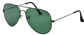 Сонцезахисні окуляри Aviator 3026 Bottle Green #S/O