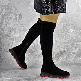 Сапоги женские Fashion Scampy 2197 36 размер 23,5 см Черный