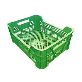 Ящик пластиковый фруктовый №1 150 * 300 * 400мм Консенсус