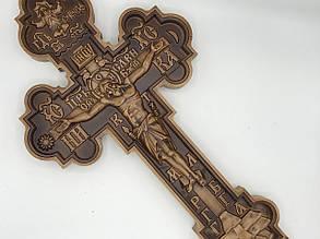 Крест большой деревянный
