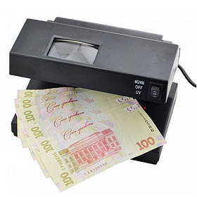Детектор валют AD-2138 УФ лампа для грошей, живлення 220 В