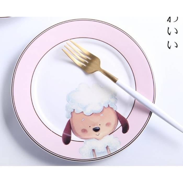 Дитяча Керамічна тарелка20 см