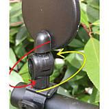 Дзеркало заднього виду d45мм на кермо велосипеда або електросамоката, фото 3
