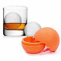 Силиконовая форма для льда CUMENSS Ледяной шар Orange 4.5 cm 3466-10093a, КОД: 2365605