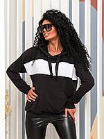 """Батник жіночий з капюшоном розміри 42-52 """"DORA"""" купити недорого від прямого постачальника"""