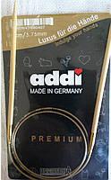 Спицы круговые бамбук Addi 555-7 № 3,75-80см