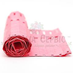 Бирка для растений Петелька Tyvek 12.7x160 мм, розовая