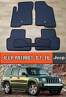 ЕВА коврики Джип Патриот 2007-2016. Ковры EVA на Jeep Patriot