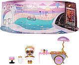 ЛОЛ Леди-Сахарок Игровой набор с куклой L.O.L. Surprise серии Furniture Sweet Boardwalk Sugar Doll LOL 572626, фото 5