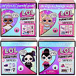 ЛОЛ Леди-Сахарок Игровой набор с куклой L.O.L. Surprise серии Furniture Sweet Boardwalk Sugar Doll LOL 572626, фото 6