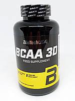 Аминокислоты BCAA 3D BioTech 180 caps