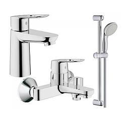 Набор смесителей Grohe BauLoop 123214S  для ванной S-Size