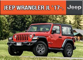 ЕВА коврики Джип Вранглер 2017-н.в. Ковры EVA на Jeep Wrangler JL