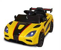 Електромобіль Just Drive BG-V8 - жовтий